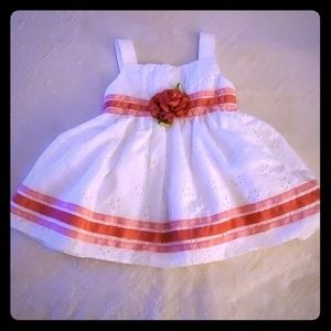 SWEET HEART ROSE DRESS USED ONCE